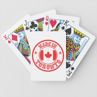Gemacht in Toronto Bicycle Spielkarten