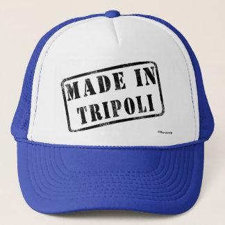 Gemacht in Tripoli Truckerkappe