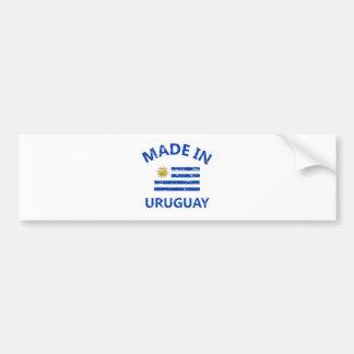 Gemacht in Uruguay Autoaufkleber