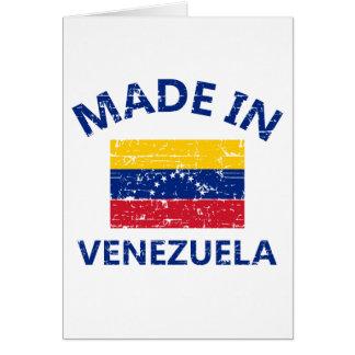Gemacht in Venezuela Karte