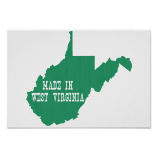Gemacht in West Virginia Poster