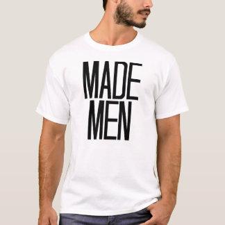 Gemachte Männer T - Shirt im Weiß