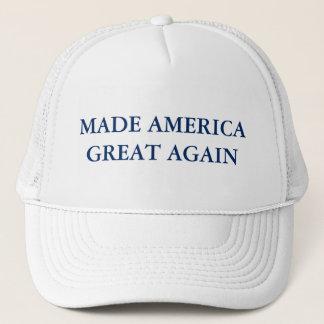 Gemachtes Amerika großer wieder - Truckerkappe