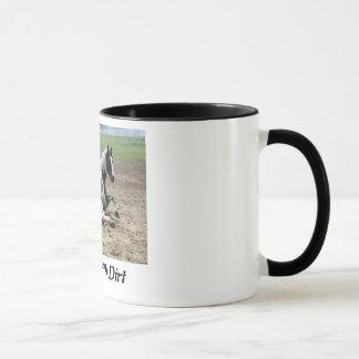 Gemalt mit der Schmutz-Tasse Tasse