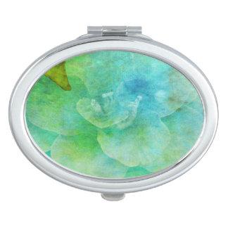 Gemalte Blume durch Shirley Taylor Taschenspiegel