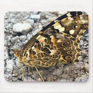 Gemalte Dame Butterfly Mousepad