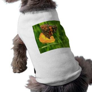 Gemalte Dame Butterfly Shirt