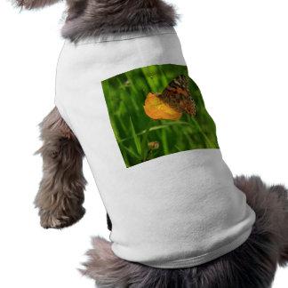 Gemalte Dame Butterfly T-Shirt