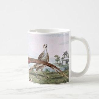 Gemalte Fasane Kaffeetasse