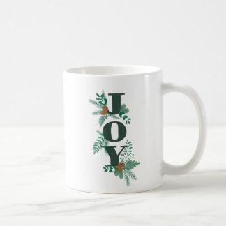 Gemalte Freude-Weihnachtskaffee-Tasse Kaffeetasse