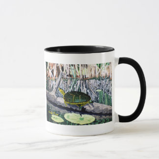 Gemalte Schildkröte-Tasse Tasse