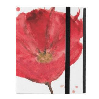 Gemalte Watercolormohnblumen-Blume 2 Etui Fürs iPad