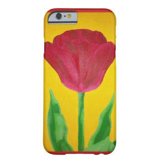 Gemalter Tulpe-Telefon-Kasten Barely There iPhone 6 Hülle