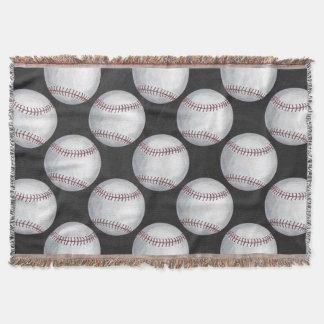 Gemaltes Baseball-Muster Decke