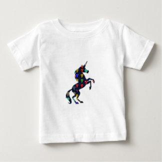 Gemaltes EINHORN-PferdeMärchen navinJOSHI NVN100 Baby T-shirt