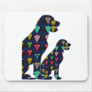 gemaltes Haustier Hund-HAUSTIER-LABRADORS Punkt Mauspad