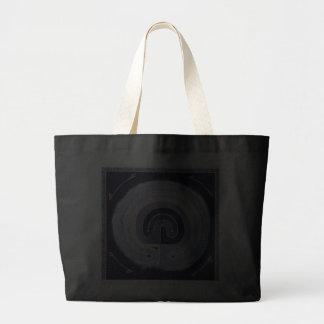 Gemaltes Labyrinth Einkaufstaschen