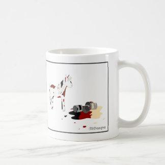 Gemaltes Pferd Kaffeetasse