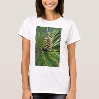 Gemaltes Ponderosa Kiefern-neues Wachstum T-Shirt