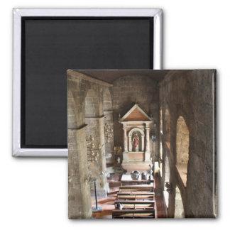Gemeinde-Kirche von St Joseph, Las Piñas Stadt Quadratischer Magnet