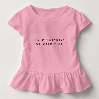 Gemeine Mädchen zitieren rosa Bodysuit Kleinkind T-shirt