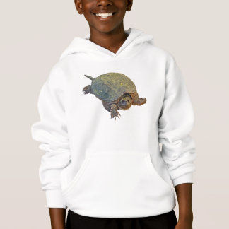 Gemeine reißende Schildkröte - Chelydra serpentina Hoodie