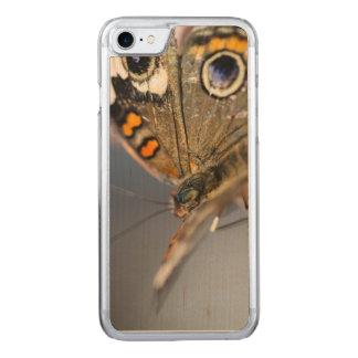 Gemeine Rosskastanie Junonia Coenia Carved iPhone 8/7 Hülle