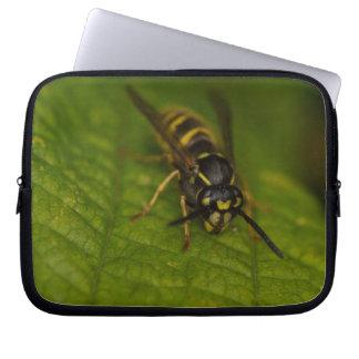 Gemeine Wespe Laptopschutzhülle