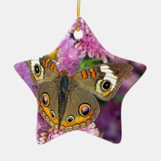 Gemeiner Rosskastanien-Schmetterling Keramik Ornament