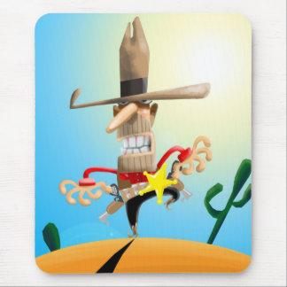 Gemeiner Sheriff Mousepad
