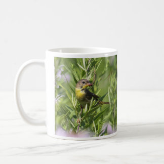 Gemeiner Yellowthroat Kaffeetasse