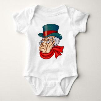 Gemeines altes Scrooge Baby Strampler