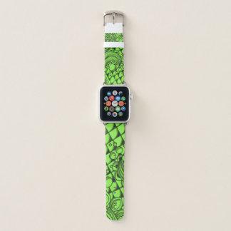 Gemeines grünes Apple-Uhrenarmband Apple Watch Armband