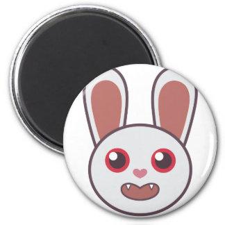 Gemeines Kaninchen Runder Magnet 5,7 Cm
