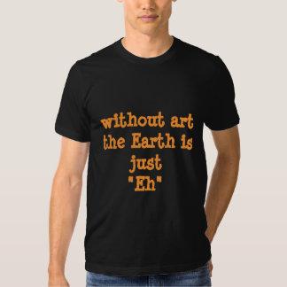 """Gemeinplätze: Ohne Kunst ist die Erde gerade """"wie T-shirt"""