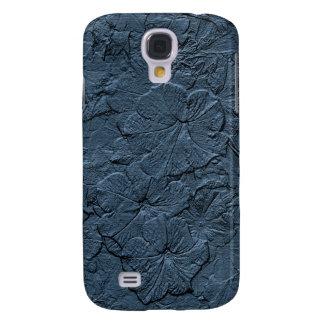 Gemeißelte Petunien, Blau-Graue Samsung-Galaxie s4 Galaxy S4 Hülle