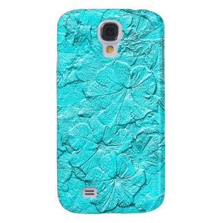 Gemeißelte Petunien, Kasten Aqua-Samsung Galaxy S4 Hülle