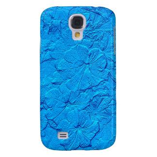 Gemeißelte Petunien, Kasten Lt.Blue-Samsung Galaxy S4 Hülle