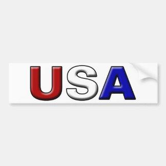 Gemeißelte USA Autoaufkleber
