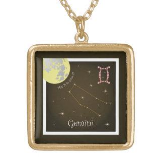 Gemini May 21 to June 21 Halskette