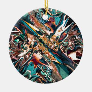 Gemischte abstrakte Formen Keramik Ornament