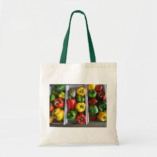 Gemüse am amischen Markt Taschen