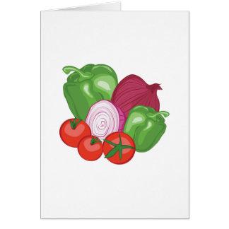 Gemüse Karte