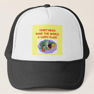 Gemüse Truckerkappe