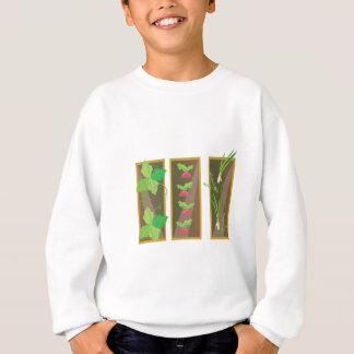 Gemüsegarten Sweatshirt