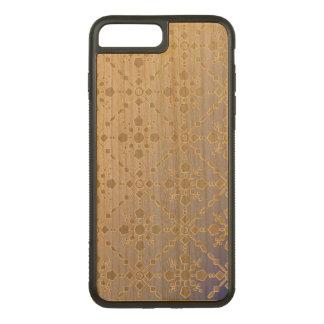 Gemustert Carved iPhone 8 Plus/7 Plus Hülle