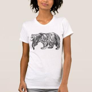 Gemusterter Bärn-Entwurf T-Shirt