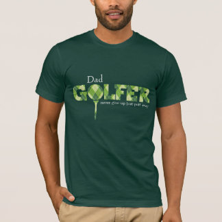 Gemusterter grüner T - Shirt