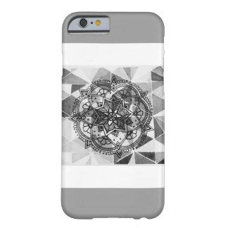 Gemusterter Mandala-Kasten Barely There iPhone 6 Hülle