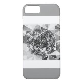 Gemusterter Mandala-Kasten iPhone 8/7 Hülle